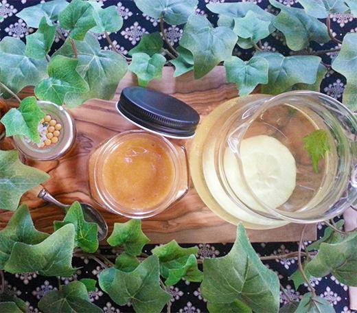 日本みつばちの生蜂蜜