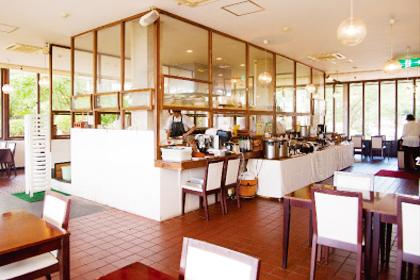 sizenオーガニックレストランの写真。